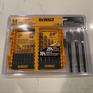 DeWALT 14 Piece Pilot Point Drill Bit Set